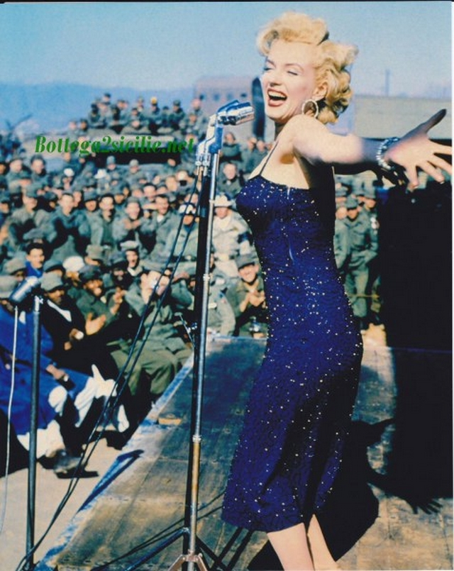 Marilyn Monroe - Stampa - Attrice cantante statunitense Star 03