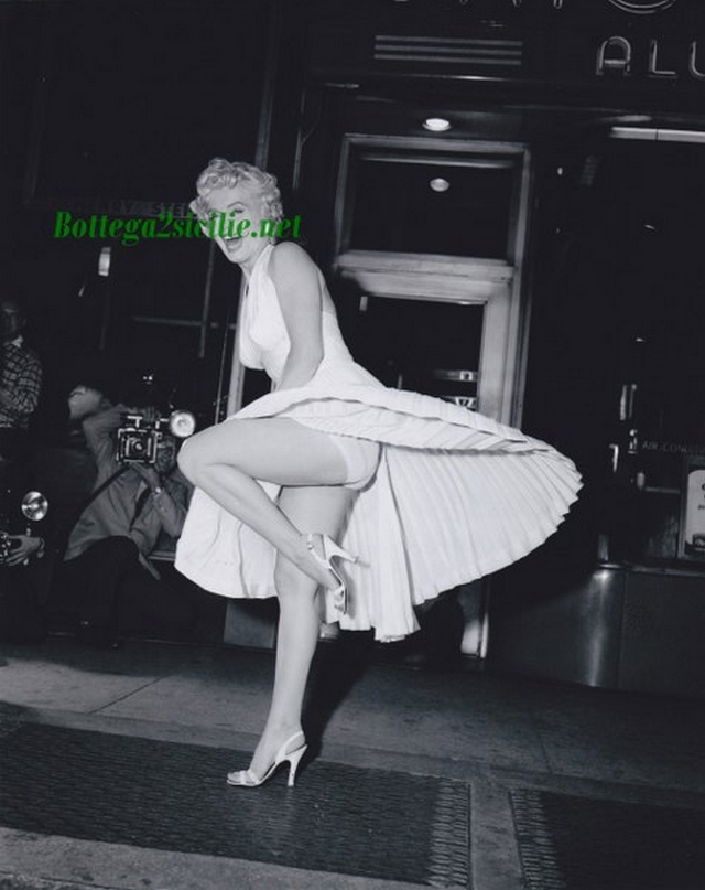Marilyn Monroe - Stampa - Attrice cantante statunitense Star 05